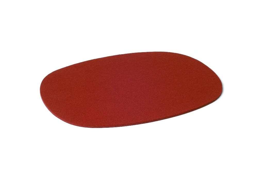 Hey-Sign Tischset oval - 4 Stk. 11 rot 4x300124511
