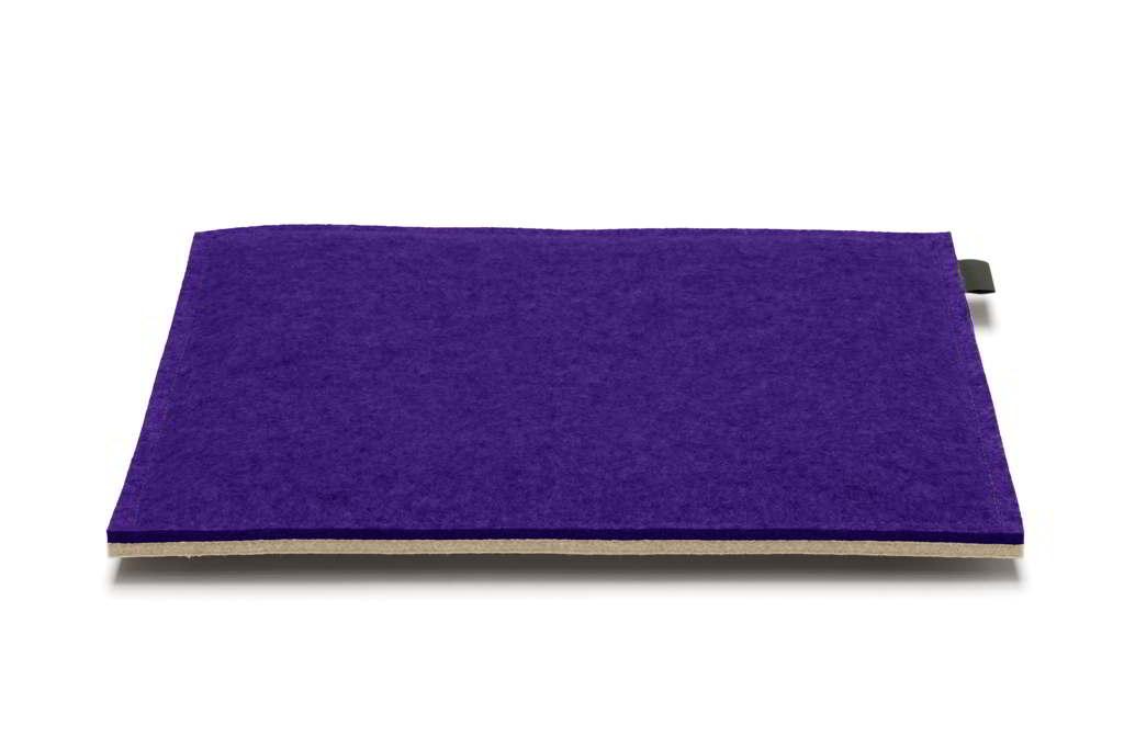 Hey-Sign quadratische Sitzkissen 2 x 3mm mit Schaumstofffüllung (40x40cm) - 4... 11 rot / 20 mango 4x3091840