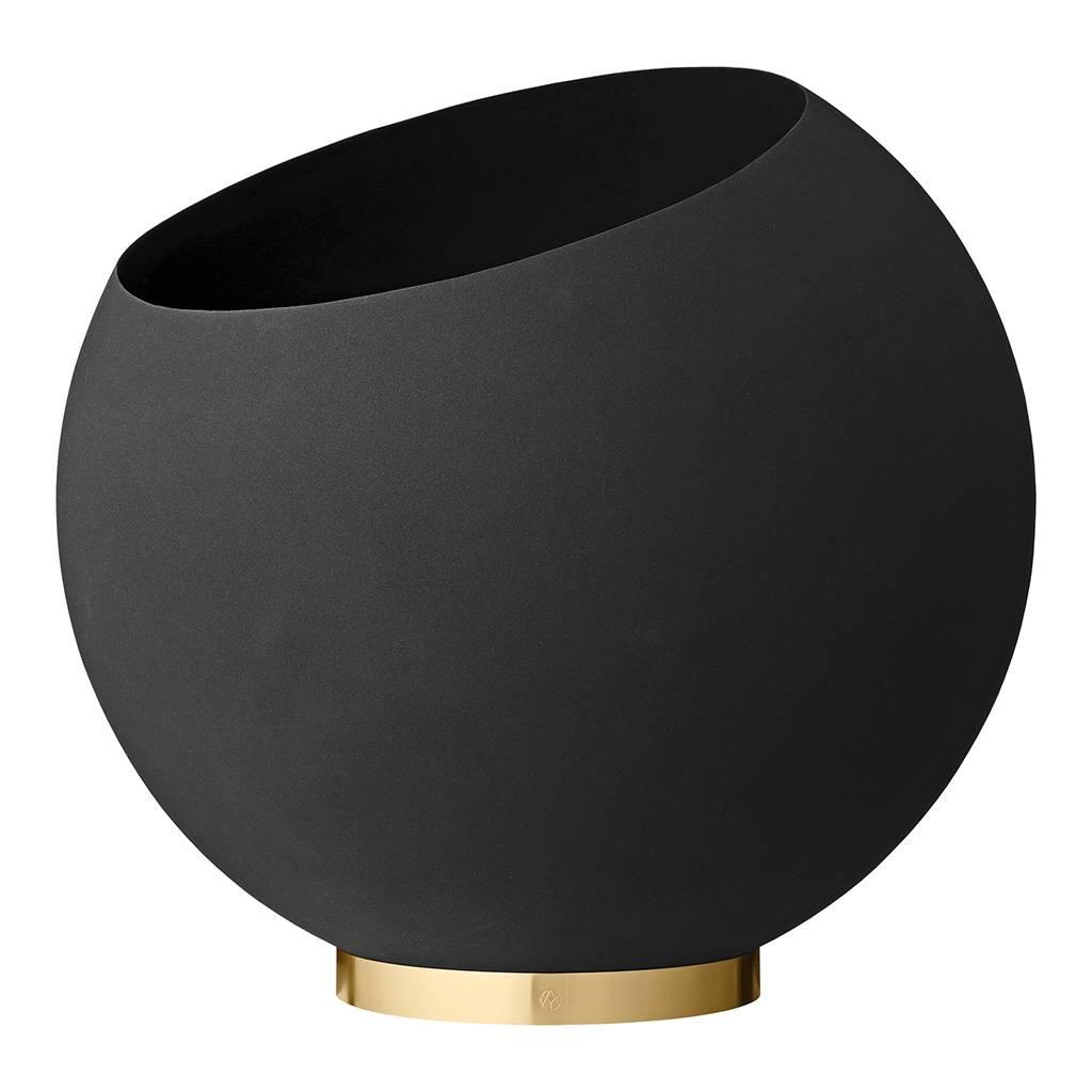 AYTM Globe Blumentopf Ø 60cm / schwarz 504670050017