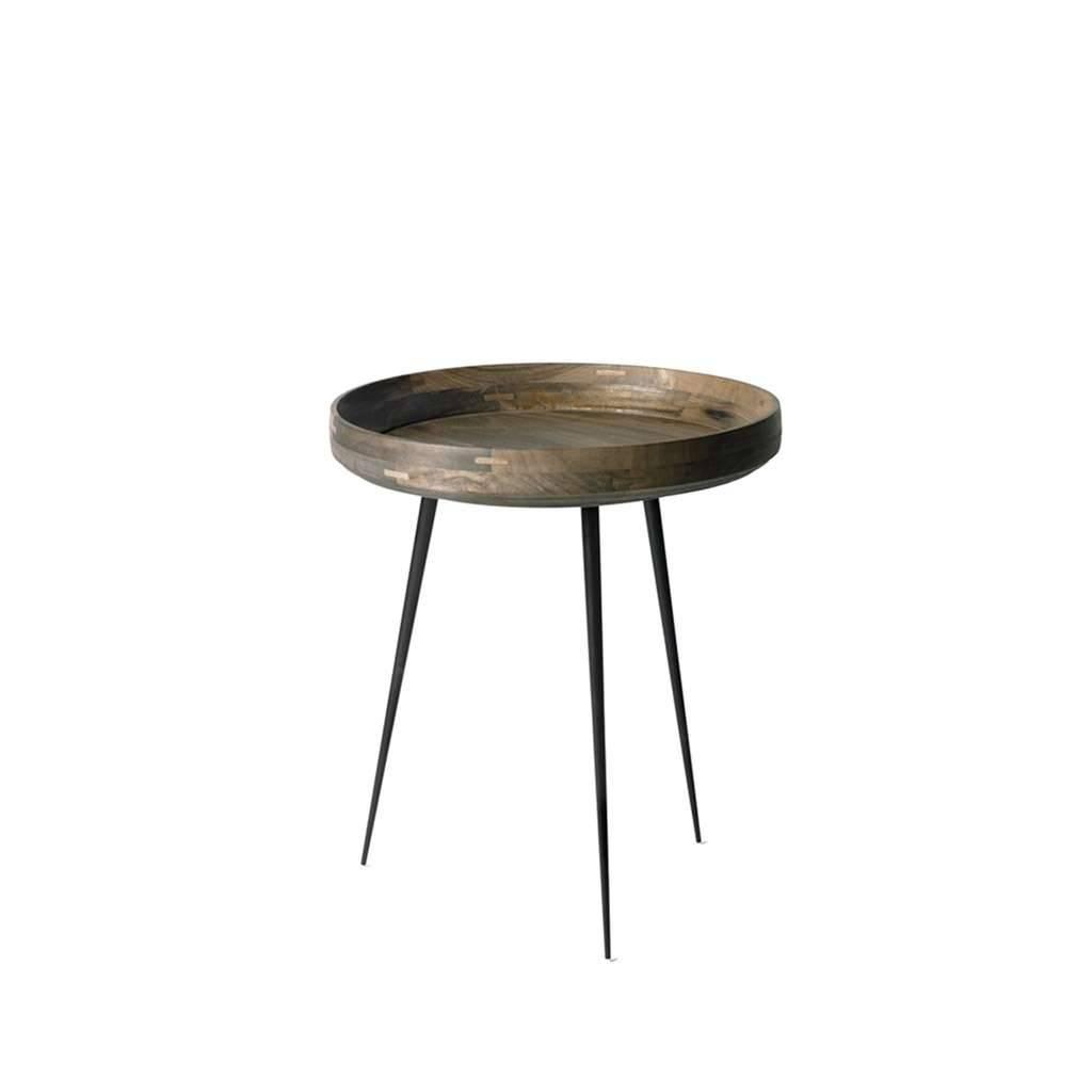 Mater Bowl Table Tisch braungrau klein 1606