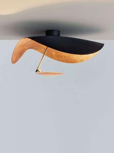 catellani smith lederam manta cws1 wandleuchte. Black Bedroom Furniture Sets. Home Design Ideas
