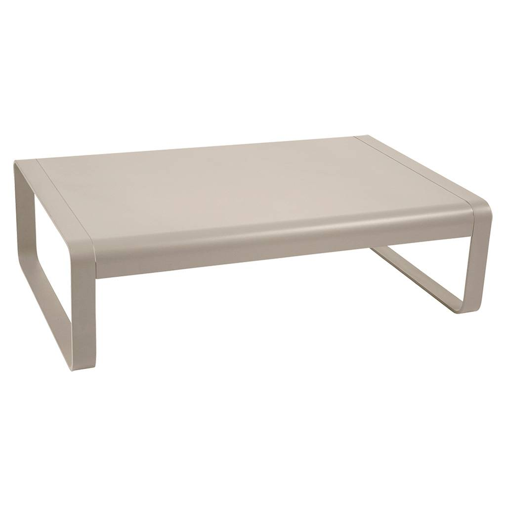 Fermob Bellevie 103 x 75 niedriger Tisch / Couchtisch muskat 8450