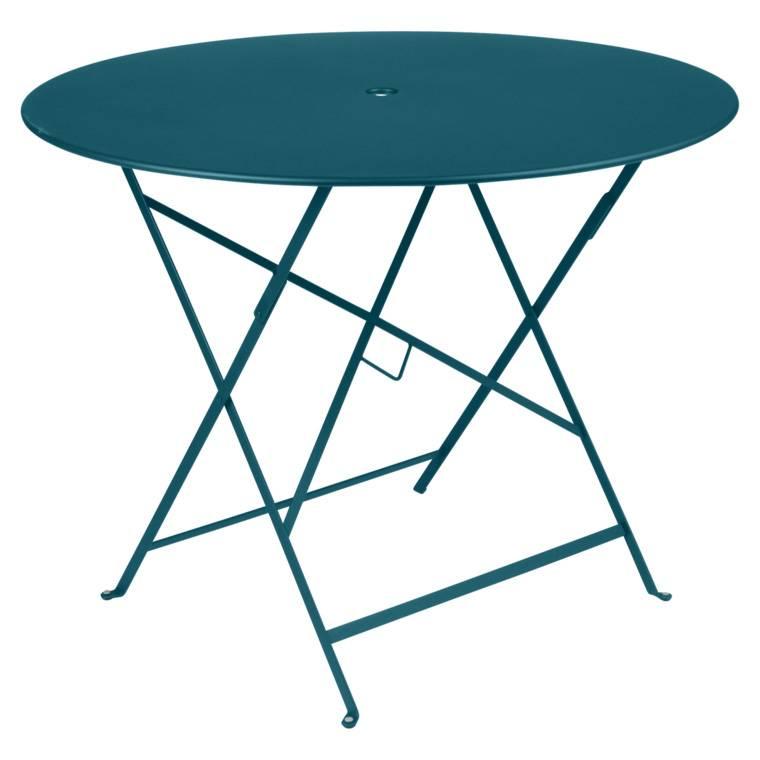 Fermob Bistro Ø 96 Tisch acapulcoblau 0235