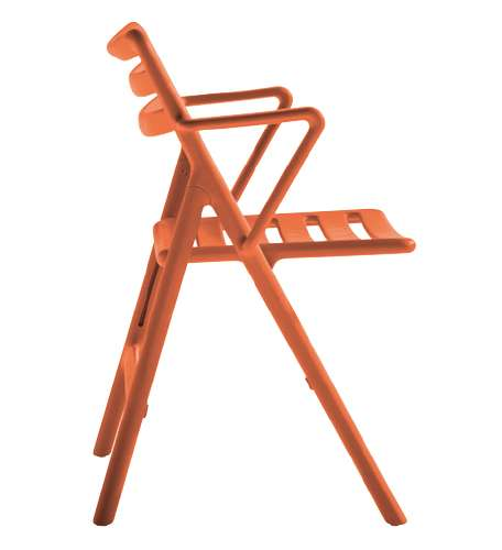 Magis Folding Air-Chair Klappstuhl mit Armlehnen weiß SD62/1730 C