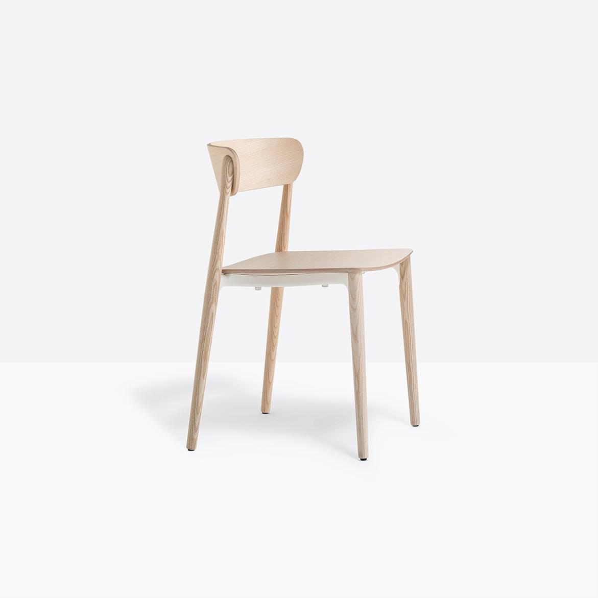 Pedrali Nemea 2820 Stuhl Esche gebleicht Nemea 2820+FR