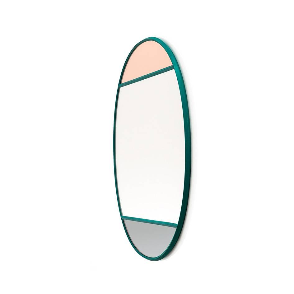 Magis Vitrail Spiegel oval grün AC524/grün