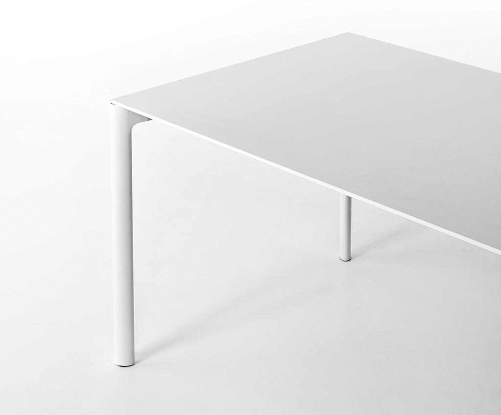 Kristalia Maki Pure White Tisch 80 x 139cm 01MAK02F