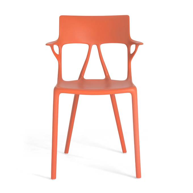 Kartell A.I. Stuhl orange 5886/AR