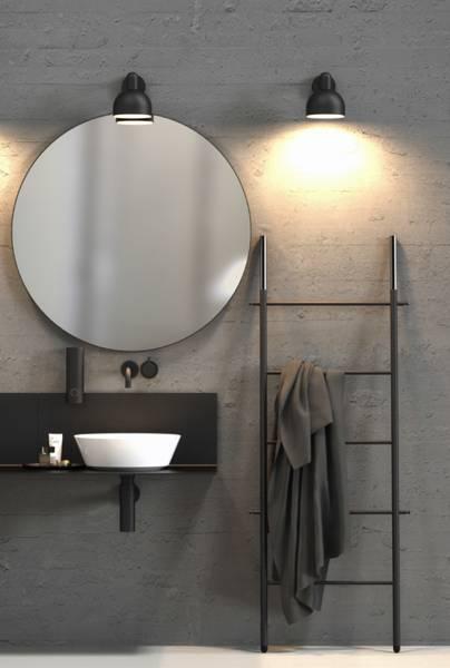 Frost-Bukto-Leiter-Badezimmer