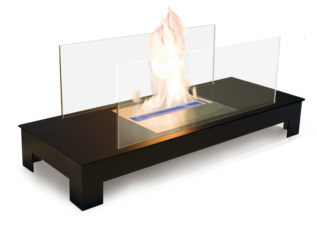 radius design floor flame ethanol kamin g nstig bei. Black Bedroom Furniture Sets. Home Design Ideas