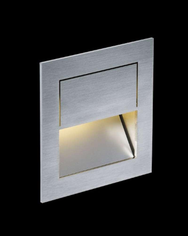 Nimbus Mike India 70 Accent Wandleuchte Unterputz / Mauerwerk Einbauset ohne Raum für Konverter warmweiß (3000° K) 003-762+003-780