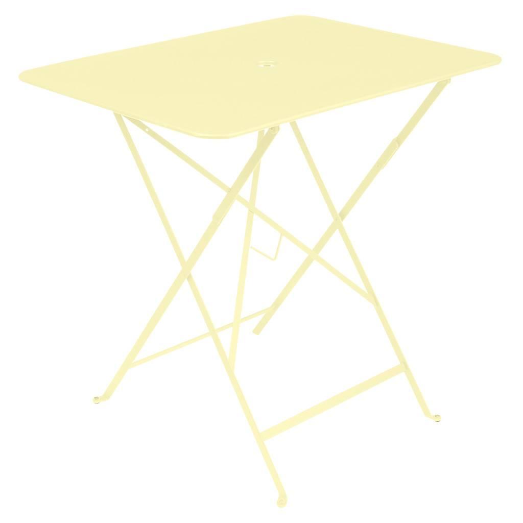 Fermob Bistro 77 x 57 Tisch zitronensorbet 0243
