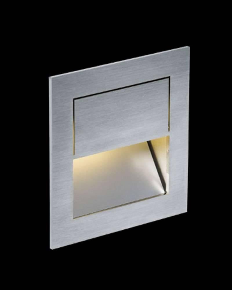Nimbus Mike India 70 Accent Wandleuchte Unterputz / Mauerwerk Einbauset mit Raum für Konverter warmweiß (3000° K) 003-762+003-781