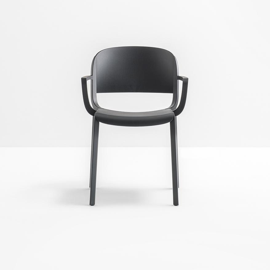 Pedrali dome 265 stuhl mit armlehne g nstig kaufen bei for Stuhl armlehne