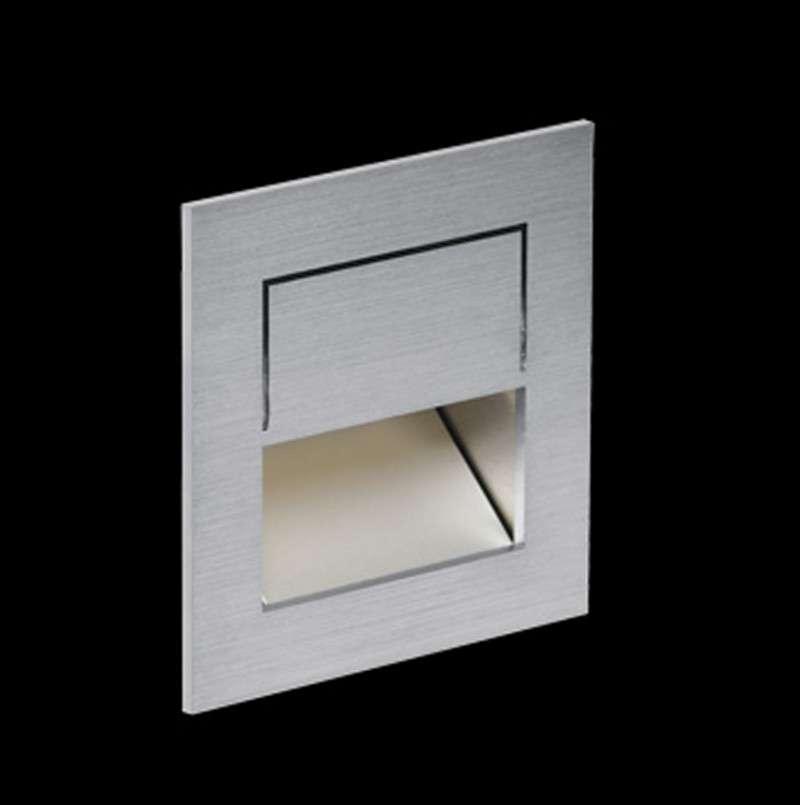 Nimbus Mike India 50 Accent Wandleuchte Unterputz / Mauerwerk Einbauset ohne Raum für Konverter warmweiß (3000° K) 004-026+004-547