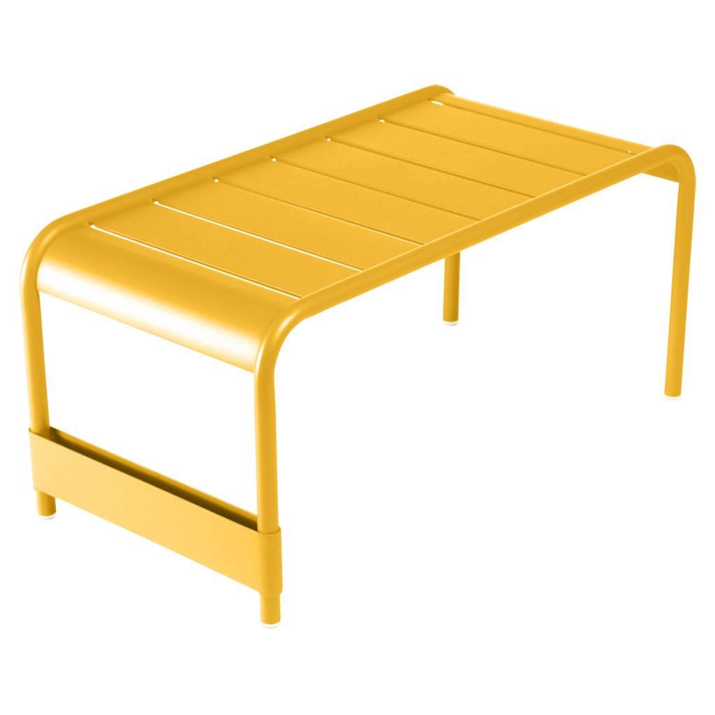 Fermob Luxembourg großer niedriger Tisch / Gartenbank honig 4161