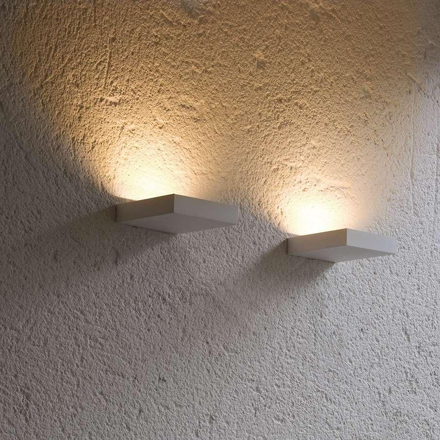 Lumini Mini Plate Wandleuchte- titangrau / Standard-Fassung - Lagerabverkauf lagerverkauf