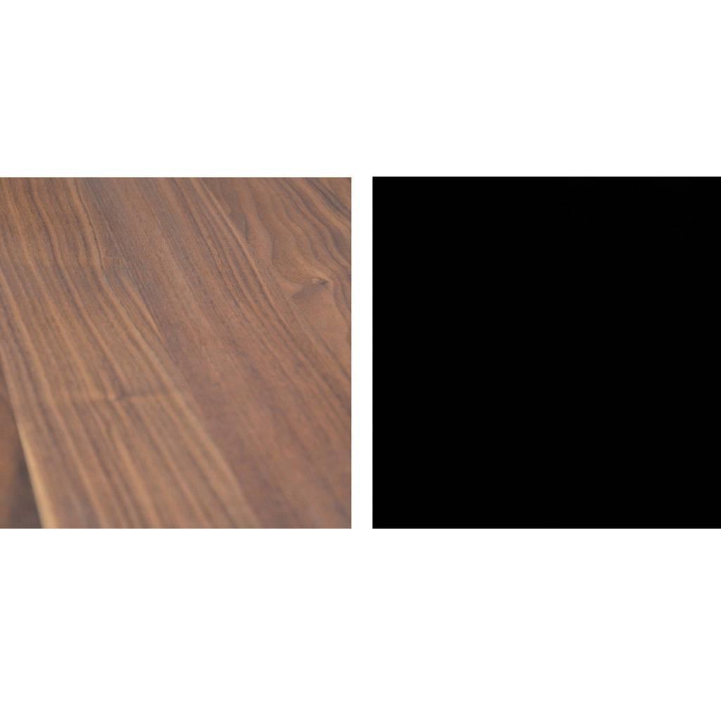Jan Kurtz Pizzo 60 Beistelltisch Nussbaum natur schwarz 498975