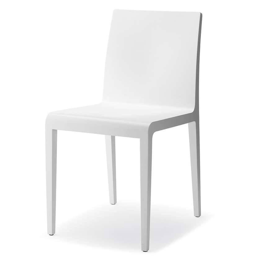 Pedrali Young 420 Stuhl weiß lackiert Young 420/BI