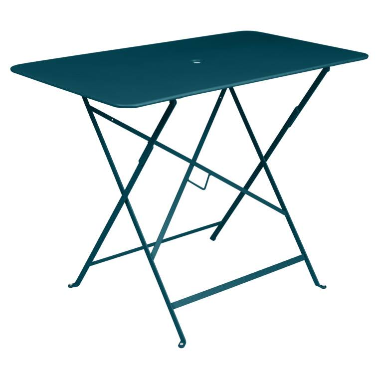 Fermob Bistro 97 x 57 Tisch acapulcoblau 0239