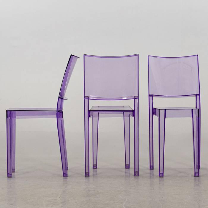 Kartell La Marie Stuhl - violett transparent ...