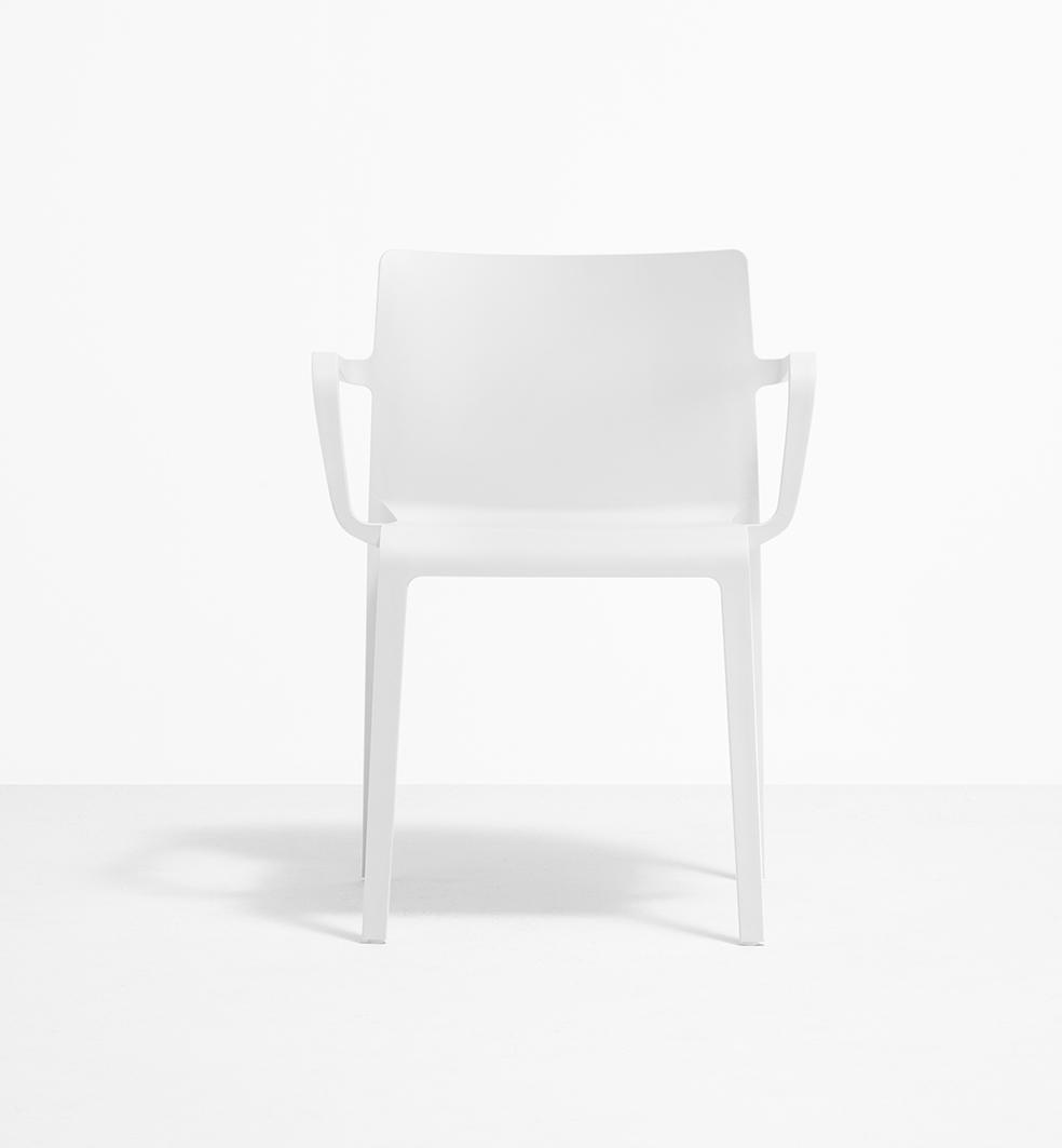 Beeindruckend Esstischstuhl Weiß Sammlung Von Pedrali Volt 675 Stuhl Mit Armlehne |