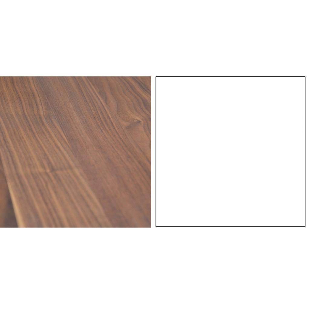 Jan Kurtz Pizzo 60 Beistelltisch Nussbaum natur weiß 498963