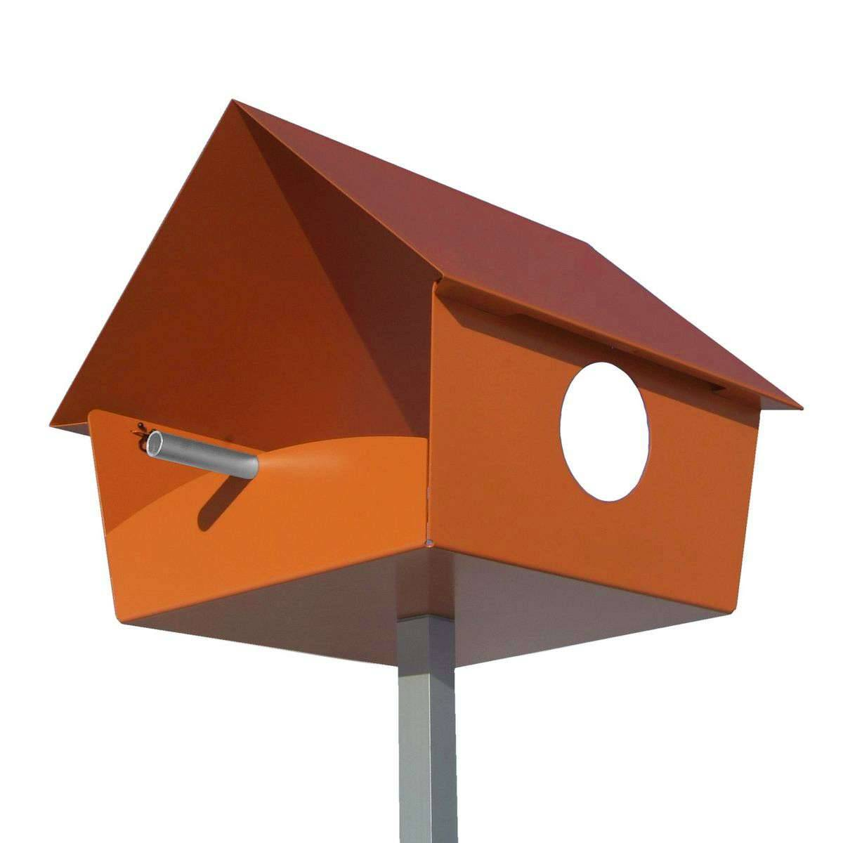 Radius Design Piep Show XXL Vogelhaus orange 529 c