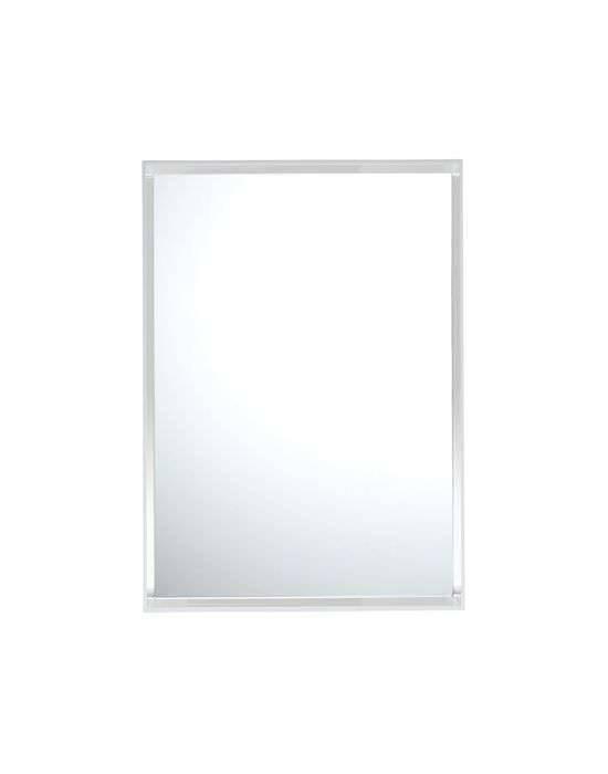 Kartell Only Me Spiegel 50 x 70cm weiß glänzend 8320/E5