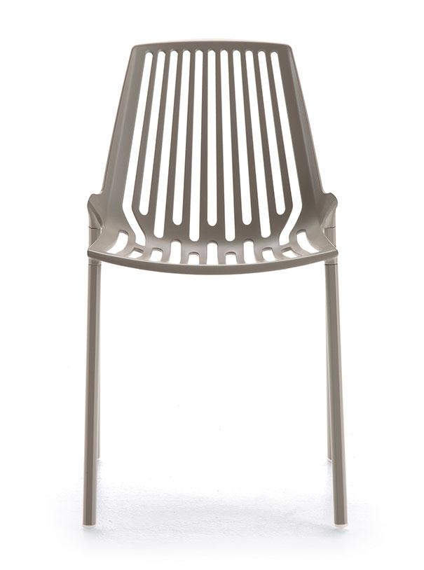 Fast Rion Stuhl cremeweiß 851-17