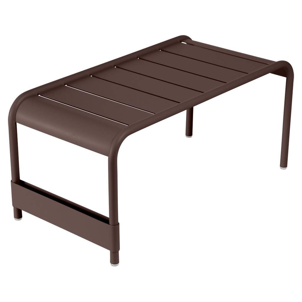 Fermob Luxembourg großer niedriger Tisch / Gartenbank rost 4161