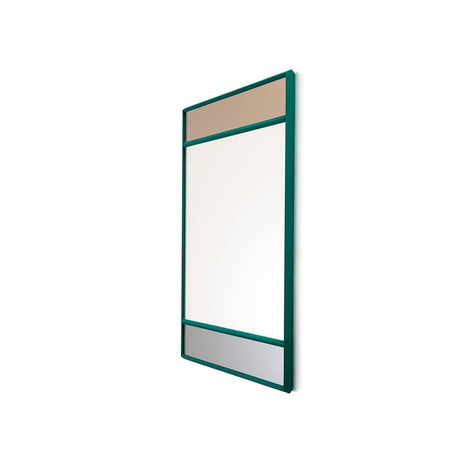 Magis Vitrail Spiegel quadratisch grün AC520/grün