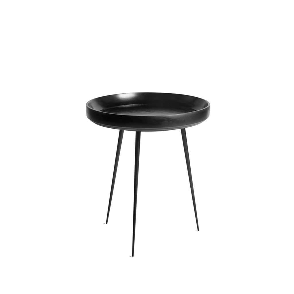 Mater Bowl Table Tisch schwarz klein 1605