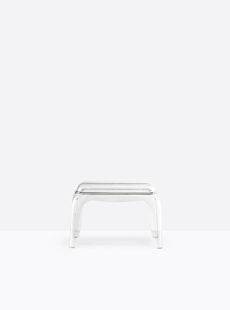 Pedrali Pasha 661 Hocker transparent Pasha 661/TR