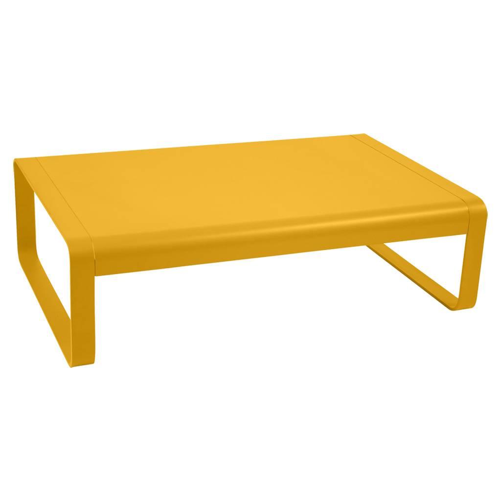 Fermob Bellevie 103 x 75 niedriger Tisch / Couchtisch honig 8450