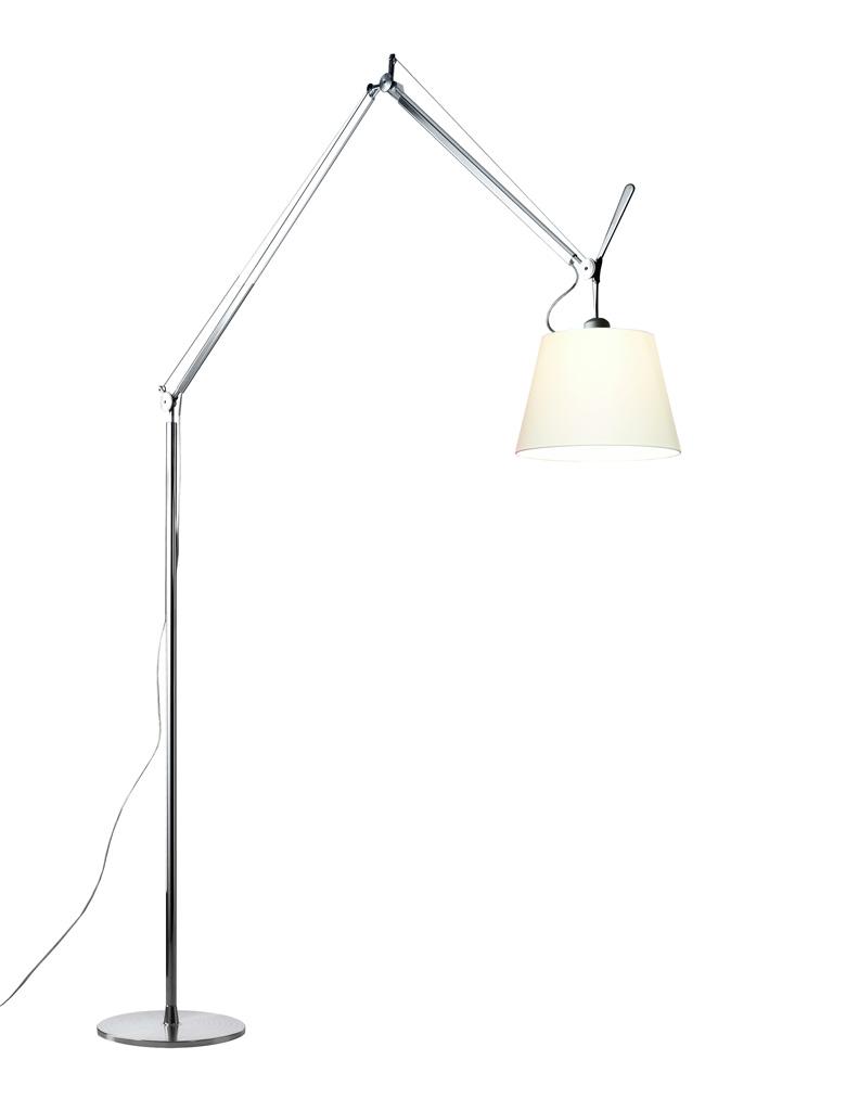 Artemide tolomeo mega stehleuchte dimmer aluminium for Stehlampe designklassiker