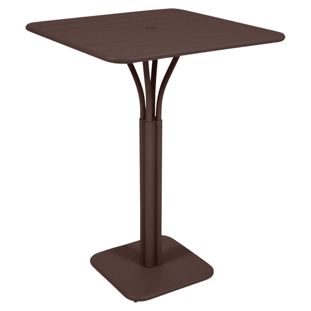 Fermob Luxembourg 80 x 80 hoher Tisch / Bistrotisch rost 4140