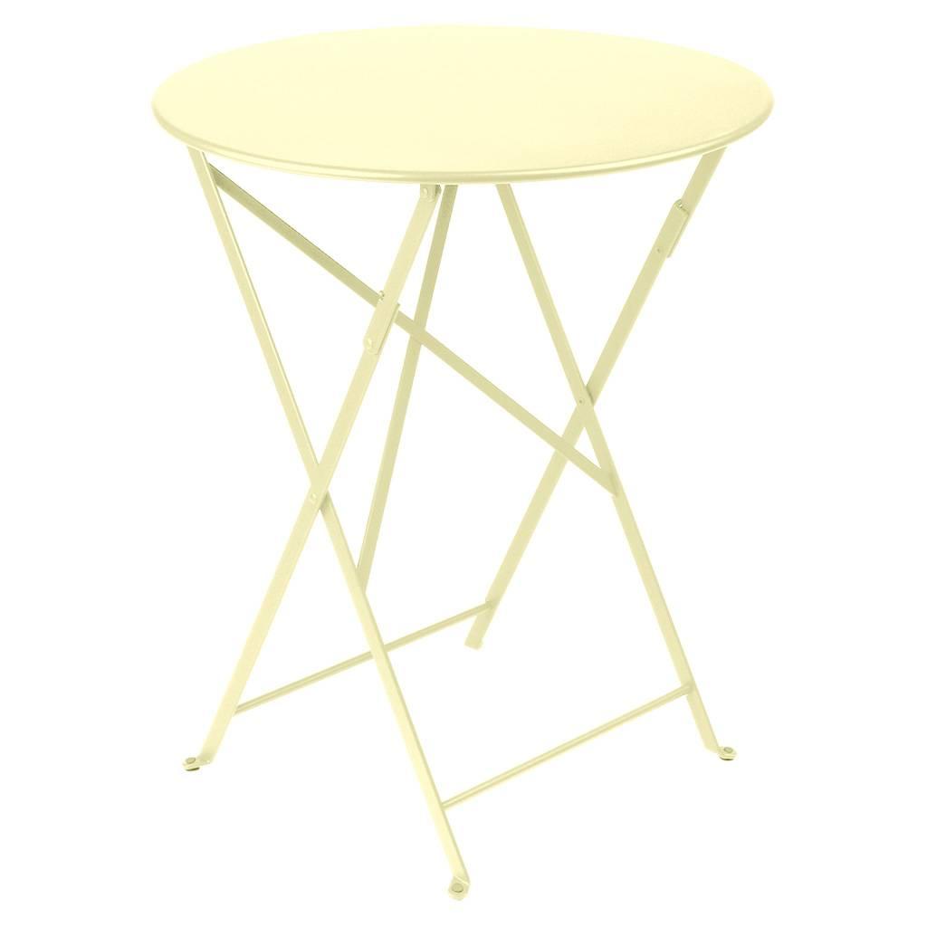 Fermob Bistro Ø 60 Tisch zitronensorbet 0245