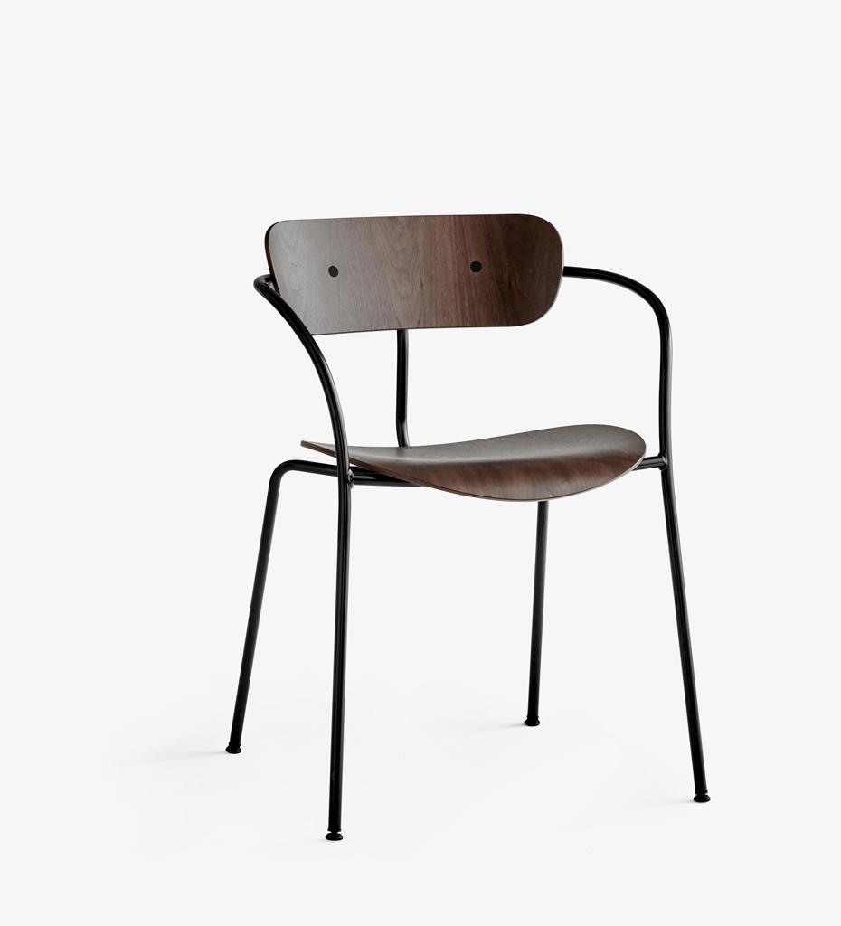 Tradition pavilion av2 stuhl mit armlehne jetzt g nstig for Stuhl mit armlehne design