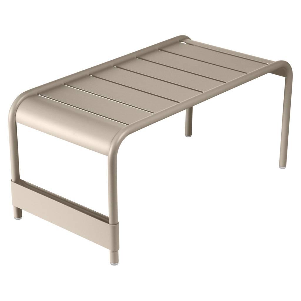Fermob Luxembourg großer niedriger Tisch / Gartenbank muskat 4161