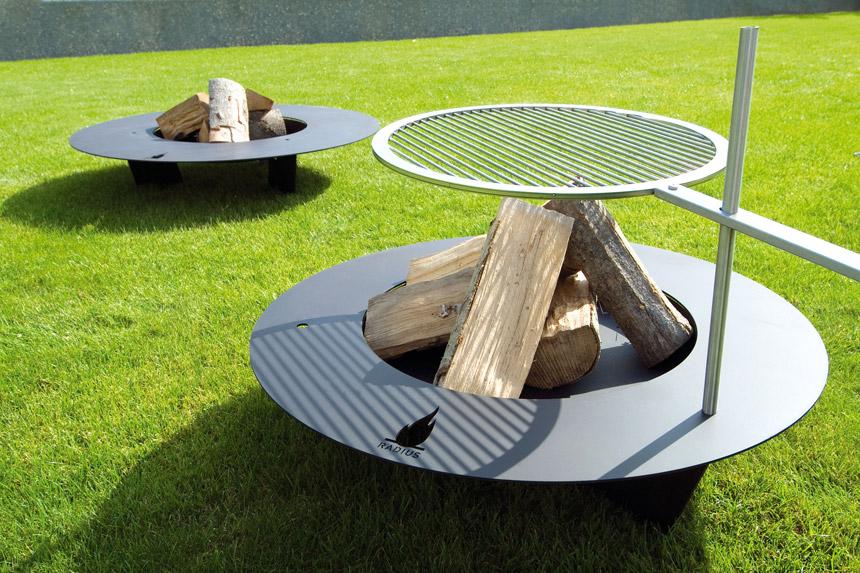 Radius Design Fireplate