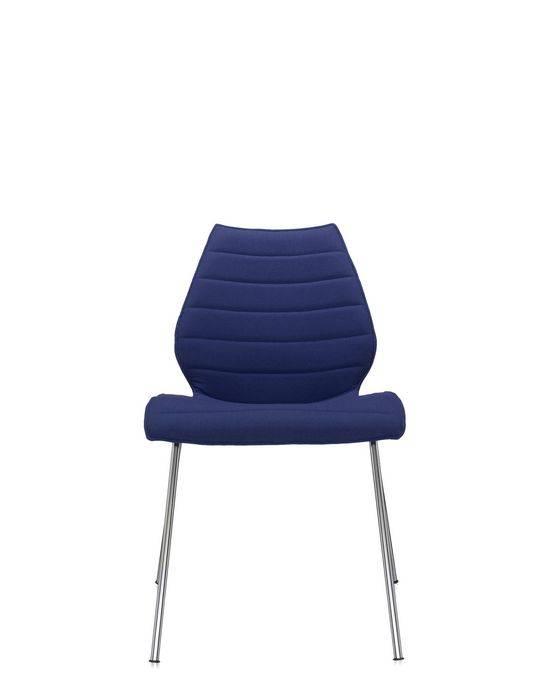 Kartell Maui Soft Stuhl Trevira blau 2895/PP