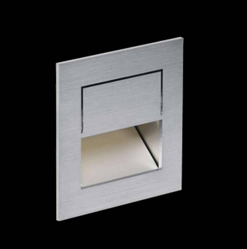 Nimbus Mike India 50 Accent Wandleuchte Unterputz / Mauerwerk Einbauset mit Raum für Konverter warmweiß (3000° K) 004-026+004-546