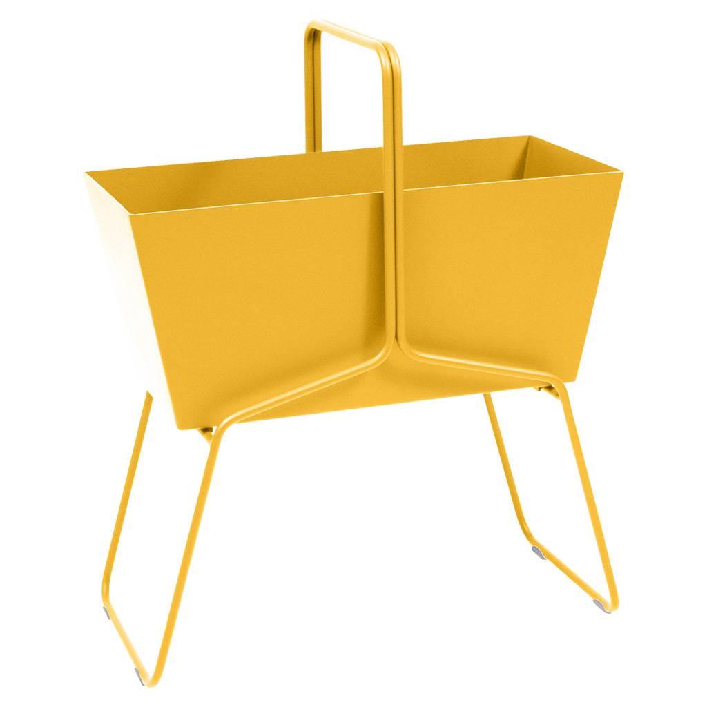Fermob Basket Blumenkasten hoch honig 3231